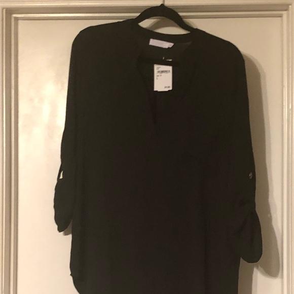 Lush Tops - Black shirt